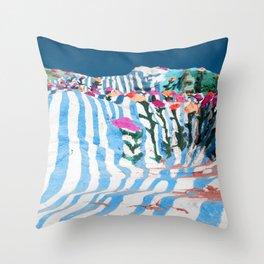 salvation mountain1 Throw Pillow