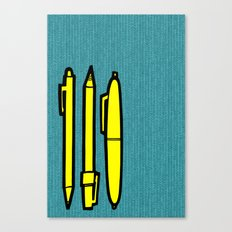 Doodlers Win Canvas Print