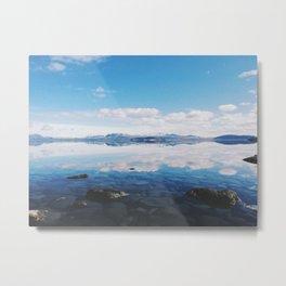 Thingvellir Lake, Iceland Metal Print