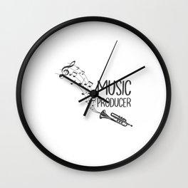 Music Producer Wall Clock