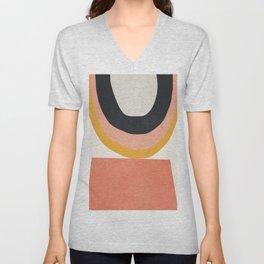 Abstract Art 8 Unisex V-Neck