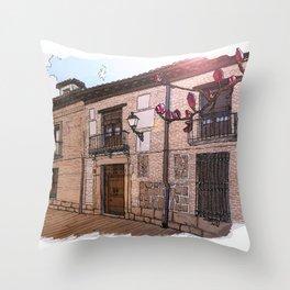 Sweet Home Alcalá Throw Pillow