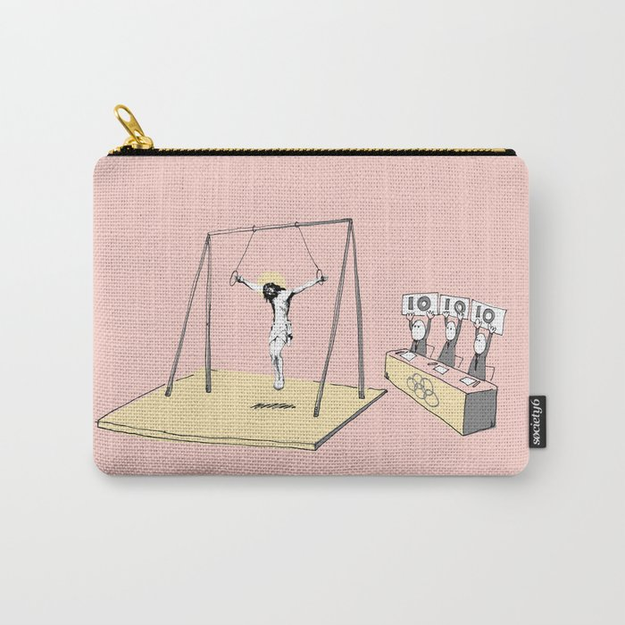 Jesus goes for gold! Carry-All Pouch