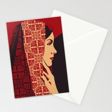 ASIANWOMAN II Stationery Cards
