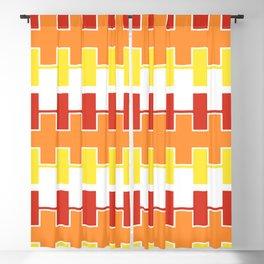 Zipper Pattern Blackout Curtain