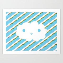 HapimiCloud Art Print