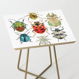 Beetle Compilation Side Table