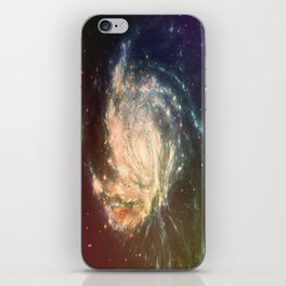 Galaxy Warps #2 iPhone Skin