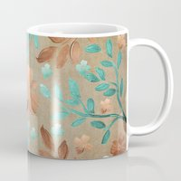 copper Mugs featuring Copper Autumn by Lisa Argyropoulos