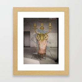 Mistaken Telepathy Framed Art Print