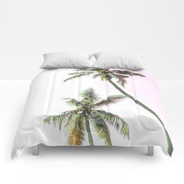 Dos Palmeras Comforters