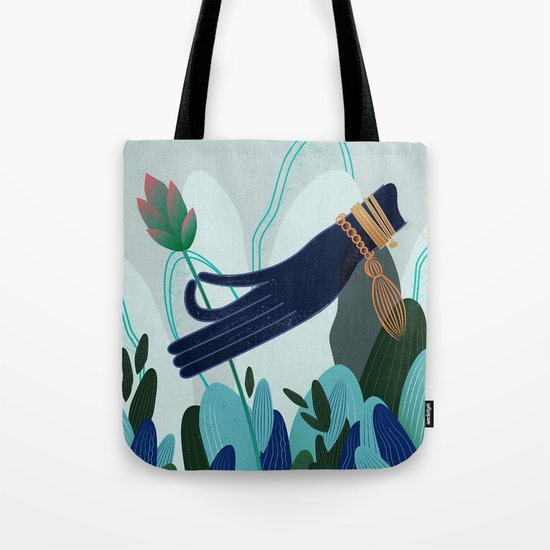 Lotus Magic : 04 Tote Bag