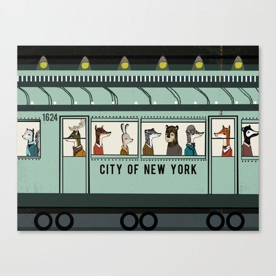 NY Subway Canvas Print