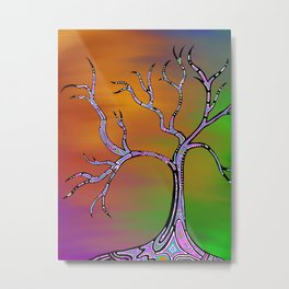 Euphoric Tree Metal Print