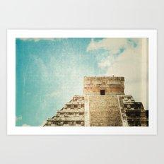 mayan Art Print