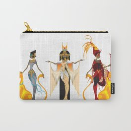 The Divas of Egypt Carry-All Pouch