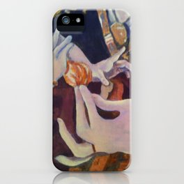 Mother's Hands iPhone Case