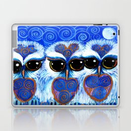 Children of the Moon, original Illustration from the Spirit Owl Series by Sheridon Rayment. Laptop & iPad Skin