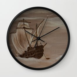 La marée haute Wall Clock