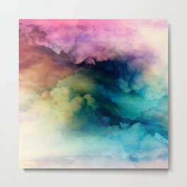 Rainbow Dreams Metal Print