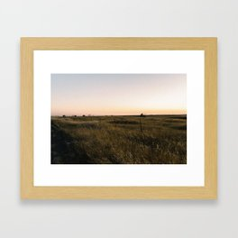 South Bear Creek Framed Art Print