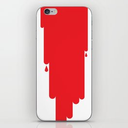Blood iPhone Skin
