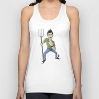 punk rock Tank Tops featuring Pennsburg Punk Rock by Richardson Comly