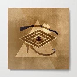 Egyptian eye Metal Print