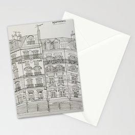 Montmarte apartments Stationery Cards