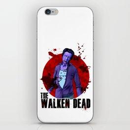 The Walken Dead – The Walking Dead Parody – Christopher Walken Zombie iPhone Skin