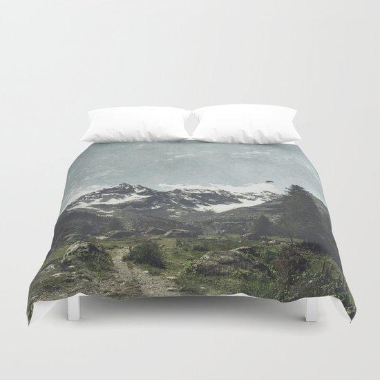 High Valley Alps Duvet Cover