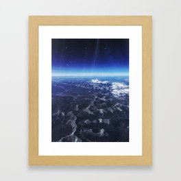 Mountain Top Framed Art Print
