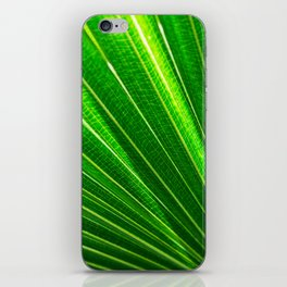 Backlit Green iPhone Skin