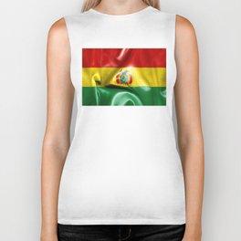 Bolivia Flag Biker Tank