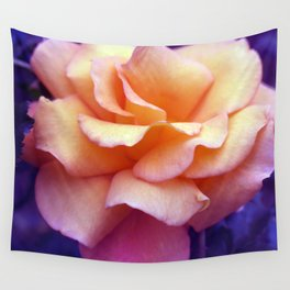 bed of roses: purple rose of cairo  Wall Tapestry