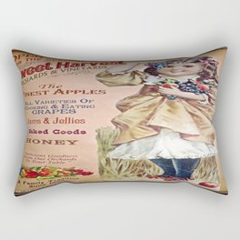 Sweet Harvest Poster Rectangular Pillow