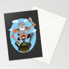 Last flower on earth Stationery Cards