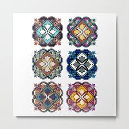 Morocco Topo Metal Print