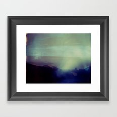 Victoria Peak Polaroid Framed Art Print