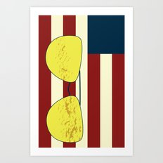 Flag Phone Case Art Print