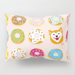 Donut Inu Pillow Sham