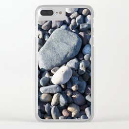 Pebbled Clear iPhone Case
