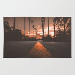 Road at Sunset Rug