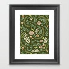 Spring Walk Floral Framed Art Print