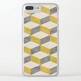 PETRA SUGAR GOLD Clear iPhone Case