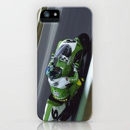KAWASAKI RIDER GREGORIO LAVILLA iPhone Case