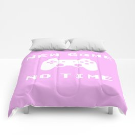 Funny Gamer Geek Controler New Game Nerdy Gift Comforters
