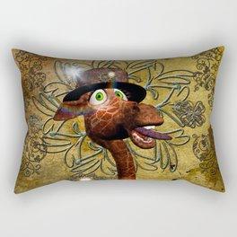 Steampunk, giraffe Rectangular Pillow