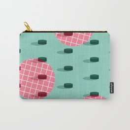 Pop Pucks #society6 #hockey #sport Carry-All Pouch