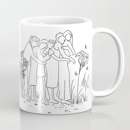 women who support each other Coffee Mug